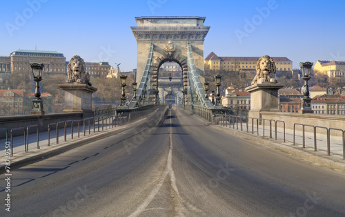Stickers pour porte Delhi Chainbridge