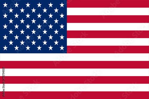 Fotografie, Obraz United States of America flag
