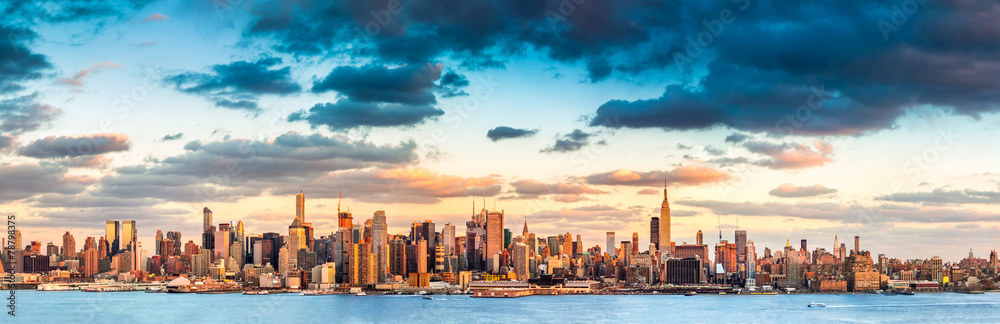 Fototapety, obrazy: New York City panorama