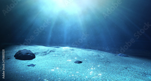 Fotografia Underwater Sea Floor