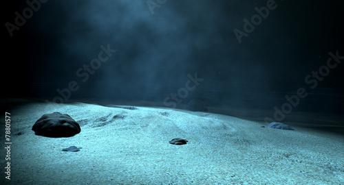 Photo  Underwater Sea Floor
