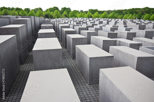 Fotografie, Obraz  Holocaust Memorial Berlin
