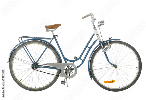 Aluminium Prints Bicycle Old fashioned bicycle