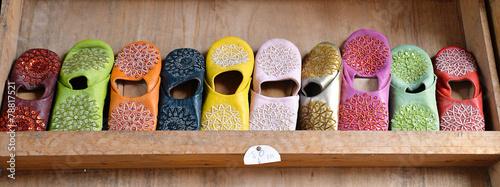 Foto op Plexiglas Marokko ciabattine
