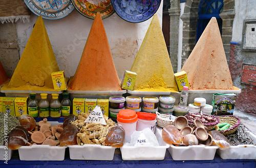 Staande foto Marokko spezie