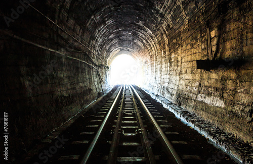 Photo Stands Tunnel Railway tunnel