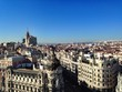 über den Dächern von Madrid