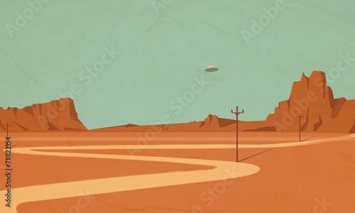 ufo the Grand Canyon