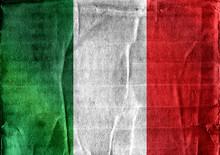Italy Flag Icons Theme Idea For Design