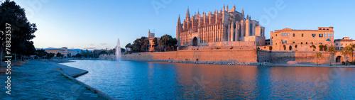 Fotografie, Obraz  Catedral de Palma de Mallorca