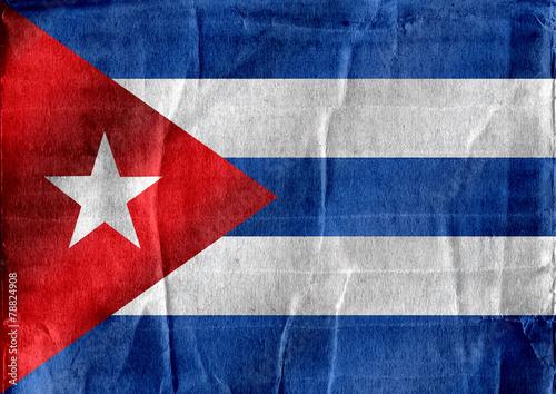 Cuba flag themes idea design Wallpaper Mural