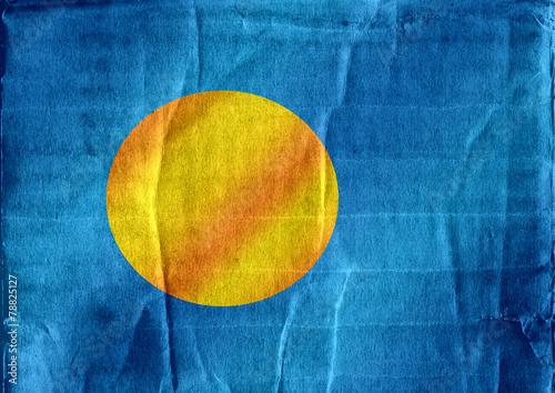 Fototapete - Palau flag themes idea design