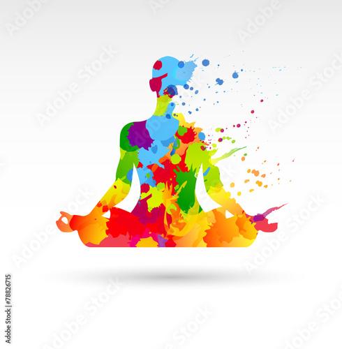 Photo meditazione, idea, colori, creatività, idee