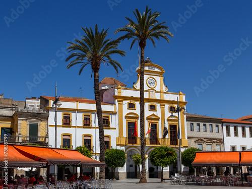 Obraz na plátně Plaza Mayor de Mérida