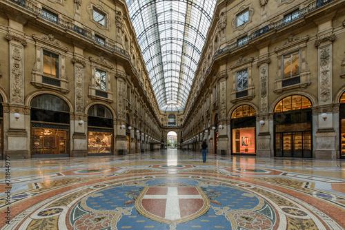 Fotografie, Obraz  Milano Galleria1