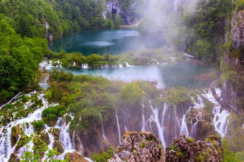 Plitvice lakes, Croatia Wallpaper Mural