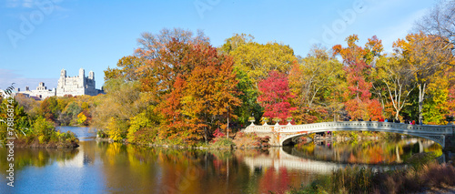 New York City - Central Park Panoramic Landscape Poster Mural XXL