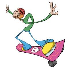 Fototapeta Do pokoju młodzieżowego Skater Dude