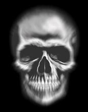 Spectre Tête De Mort Illustration