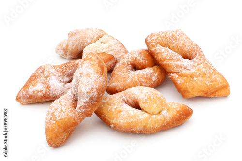 Fotografie, Obraz  Bugnes - French donuts