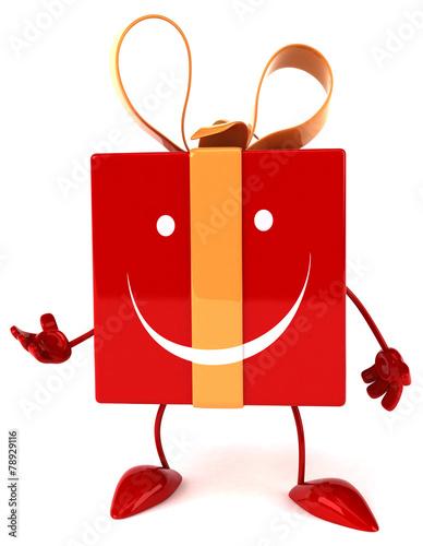 Papiers peints Rouge, noir, blanc Fun gift