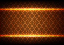 Abstract Square And Light On B...