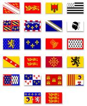 France Region Flag Collection-...