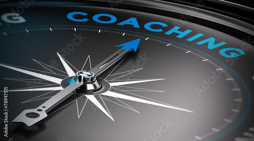 Coaching Fototapet