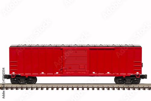 Fotografie, Obraz  Red Boxcar