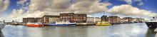 Poole Quay Panoramic With Harb...