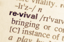 Dictionary Definition Of Word Revival