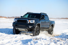 Winter Truck Ride