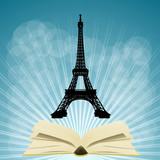 Fototapeta Fototapety Paryż - francja i książka