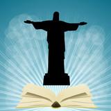 Fototapeta Nowy Jork - brazylia i książka