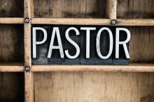 Pastor Concept Metal Letterpre...