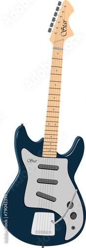 Obraz Gitara elektryczna - fototapety do salonu