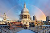 Fototapeta Londyn - London - Cathedral St. Paiul, UK