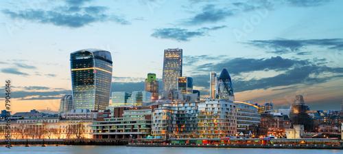 Poster London City of London, UK