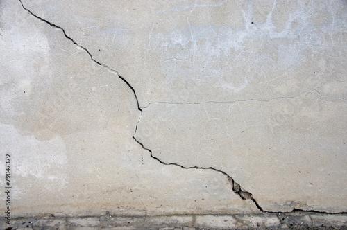 Fotomural Fisura mur