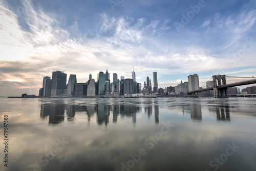 Fototapeta premium New York Downtown Skyline