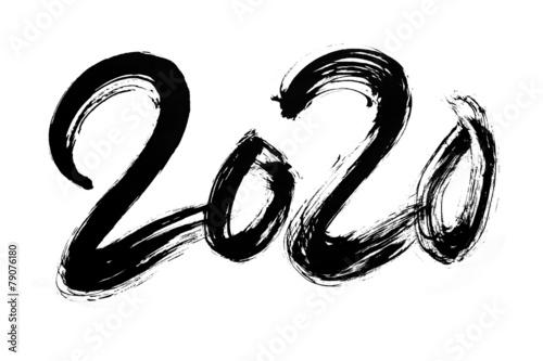 Poster  筆文字 2020