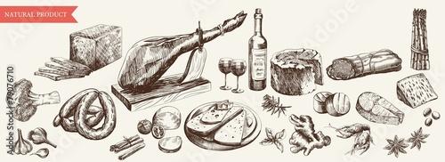 Fototapeta foodstuffs obraz