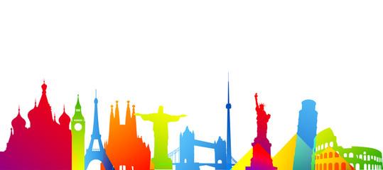 turismo, mondo, monumenti, viaggi, vacanze