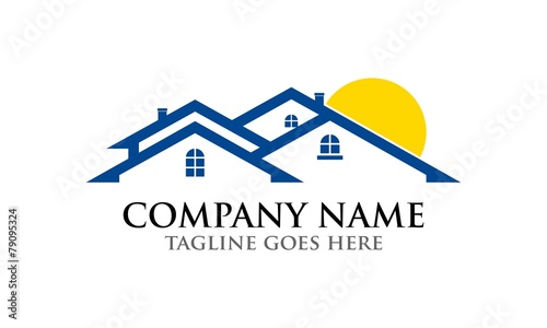 Obraz na plátne House Logo 1