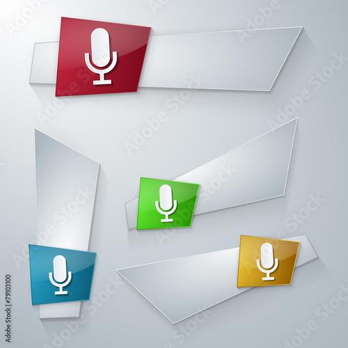 Fotografie, Obraz  business_icons_template_165