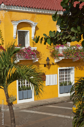 Fotobehang Zuid-Amerika land Historic Cartagena de Indias