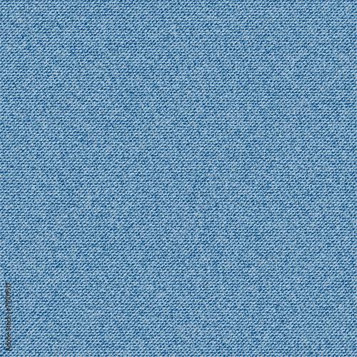 Fototapeten Künstlich Denim fabric texture. Seamless vector.