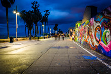 Graffiti Along The Venice Beac...