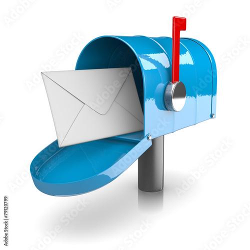 Fotomural Mailbox