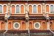 Leinwandbild Motiv Church Antique Leaded Window